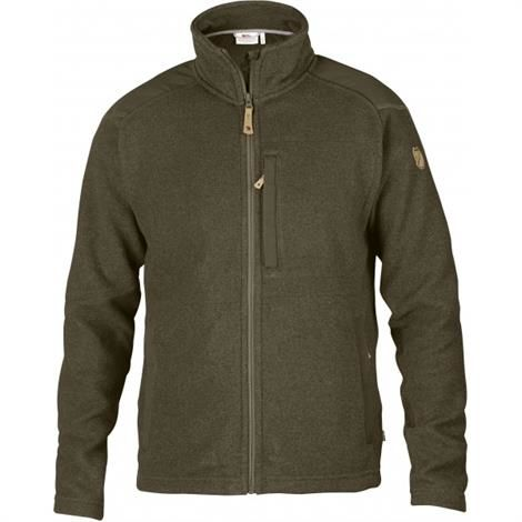 Image of   Fjällräven Buck Fleece Mens, Dark Olive