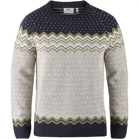 Image of   Fjällräven Övik Knit Sweater Mens, Navy