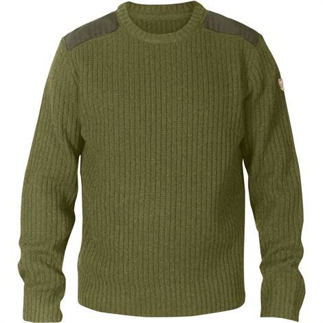 Image of   Fjällräven Singi Knit Sweater Mens, Dark Olive