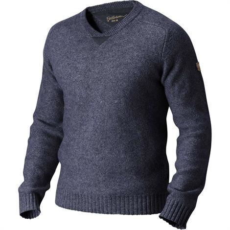 Image of   Fjällräven Woods Sweater Mens, Dark Navy