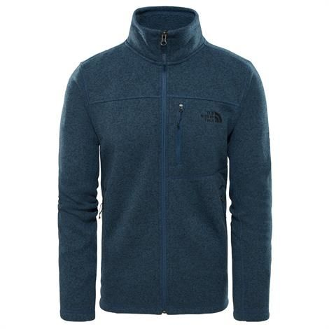 Image of   The North Face Mens Gordon Lyons Fleece, Shady Blue Heather