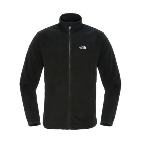 Image of   The North Face Mens 100 New Glacier Full Zip, Black