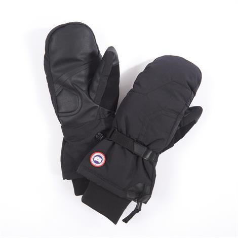 Image of   Canada Goose Mens Down Mitts, Black