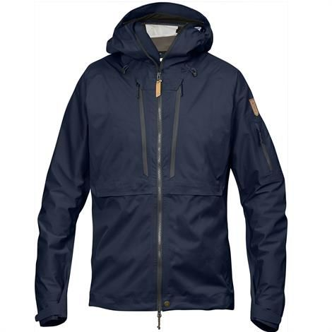 Image of   Fjällräven Keb Eco-Shell Jacket Mens, Dark Navy