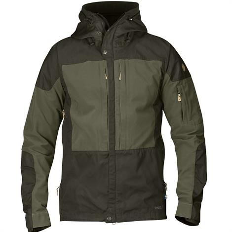 Fjällräven Keb Jacket Mens, Deep Forest / Laurel Green