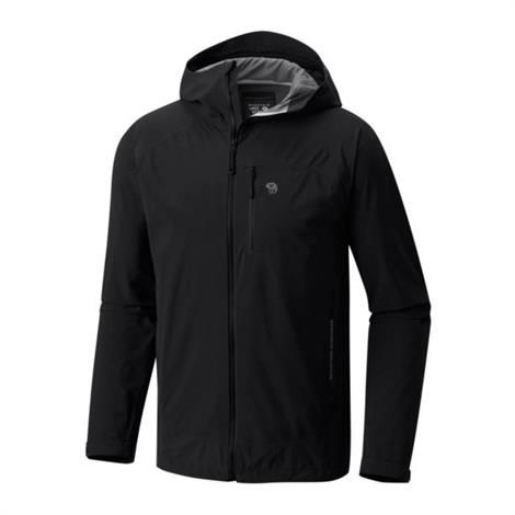 Image of   Mountain Hardwear Mens Stretch Ozonic Jacket, Black