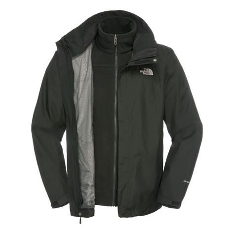 The North Face Mens Evolve II Triclimate Jacket, Black