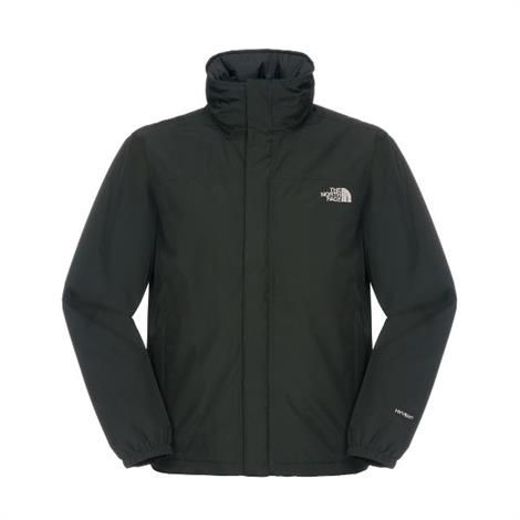 The North Face Mens Resolve Insulated Jacket, Black