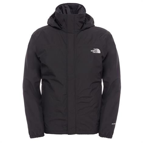 The North Face Mens Insulated Resolve Jacket, Black