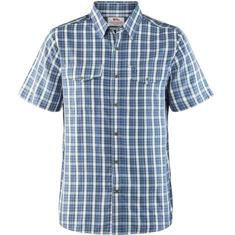 Image of   Fjällräven Abisko Cool Shirt S/S Mens, Uncle Blue