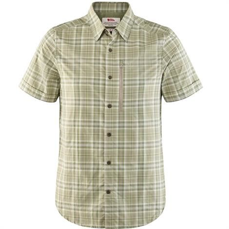Image of   Fjällräven Abisko Hike Shirt S/S Mens, Savanna