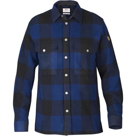 Image of   Fjällräven Canada Shirt Mens, Uncle Blue