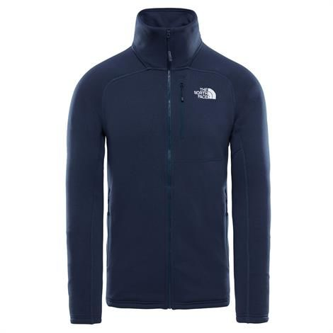 Image of   The North Face Mens Flux 2 Powerstretch Full Zip, Urban Navy