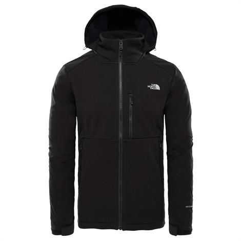 Image of   The North Face Mens Kabru Softshell Hooded Jacket, Black