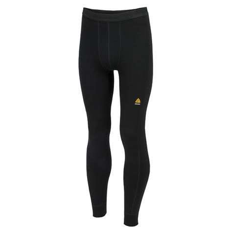 Image of   Aklima Warmwool Longs Man, Jet Black