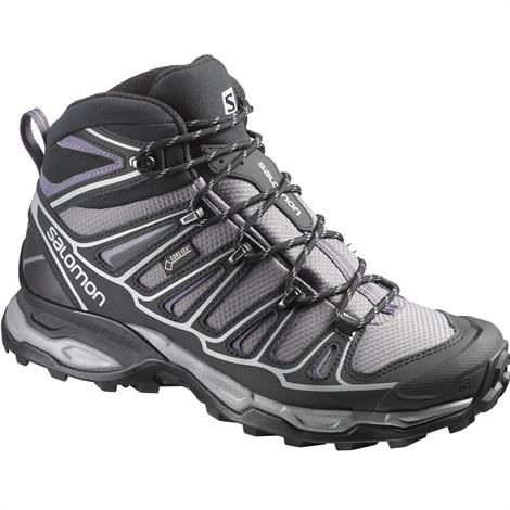 Image of   Salomon X Ultra Mid 2 GTX Womens, Black / Grey