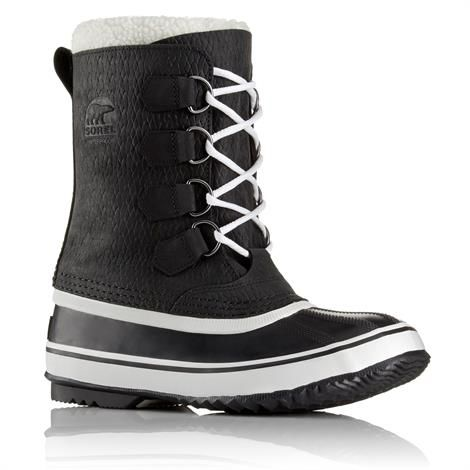 Image of   Sorel 1964 Pac 2 Wool Dame, Black / White