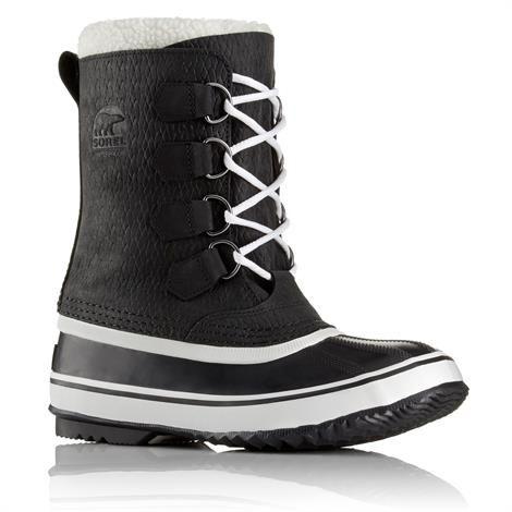 Sorel 1964 Pac 2 Wool Dame, Black / White