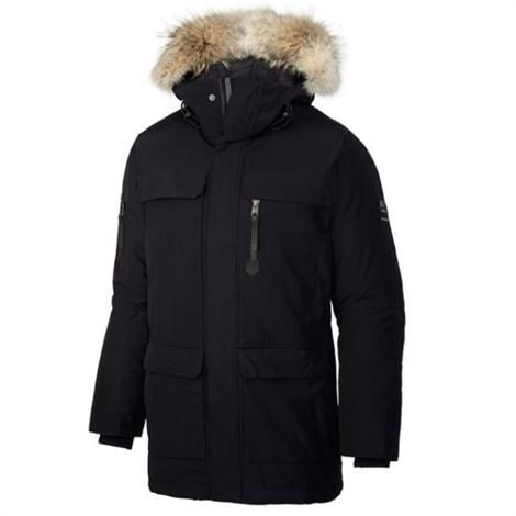 Image of   Sorel Caribou Parka Herre, Black