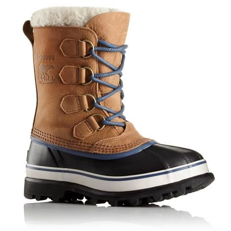 Image of   Sorel Caribou Wool Dame, Elk / Dark Mountain