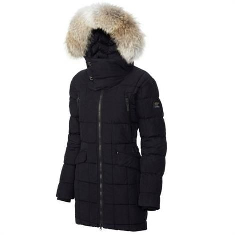 Image of   Sorel Conquest Carly Parka Dame, Black