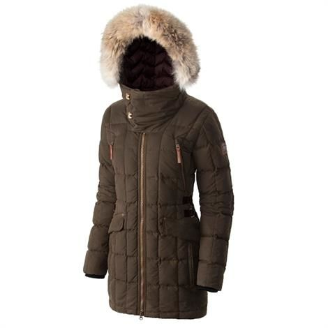 Image of   Sorel Conquest Carly Parka Dame, Olive Green