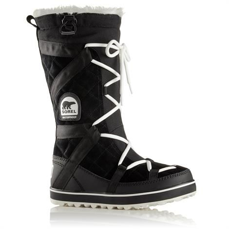 Image of   Sorel Glacy Explorer Dame, Black