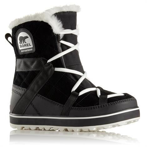 Image of   Sorel Glacy Explorer Shortie Dame, Black