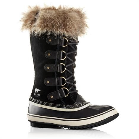 Image of   Sorel Joan of Arctic Dame, Black / Stone