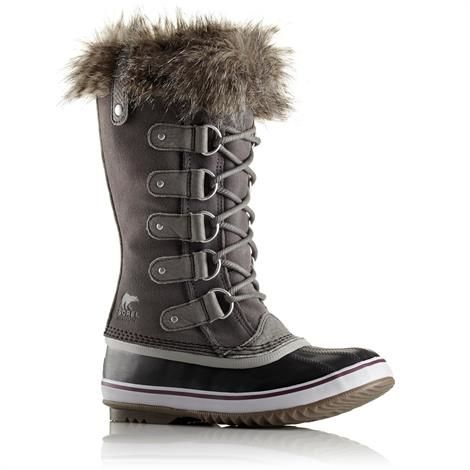 Image of   Sorel Joan of Arctic Dame, Quarry / Black