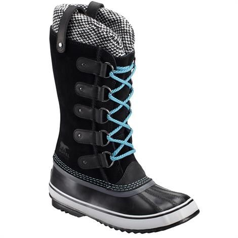 Image of   Sorel Joan of Arctic Knit Dame, Black