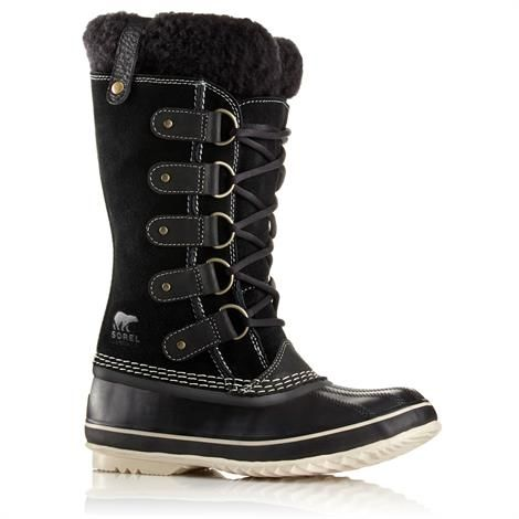 Image of   Sorel Joan of Arctic Shearling Dame, Black / Stone