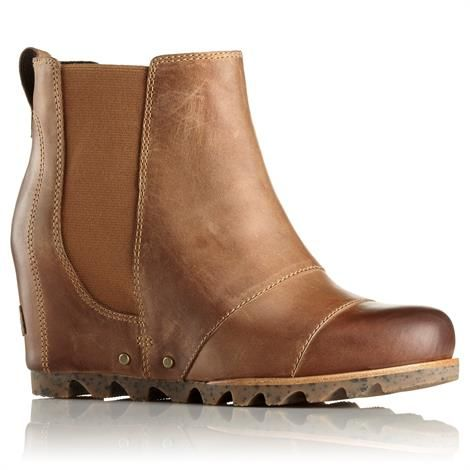 Image of   Sorel Lea Wedge Dame, Elk / Curry
