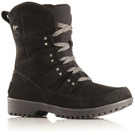 Image of   Sorel Meadow Lace Dame, Black / Black