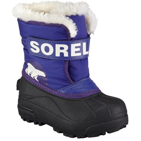 Image of   Sorel Snow Commander Børn, Grape Juice / UW Purple