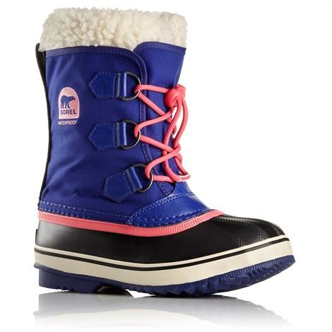 Sorel Yoot Pac Nylon Børn, Grape Juice / Afterglow
