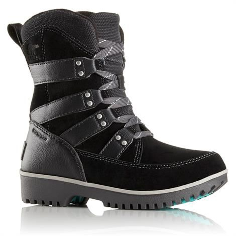 Image of   Sorel Meadow Lace Børn, Black / Dark Grey