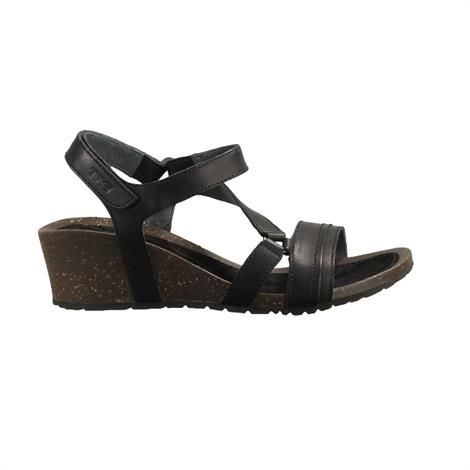 Image of   Teva Cabrillo Crossover WedgeDame, Black