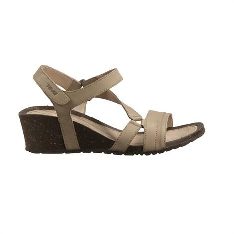 Image of   Teva Cabrillo Crossover Wedge Dame, Dune