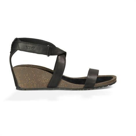 Image of   Teva Cabrillo Strap Wedge 2 Dame, Black