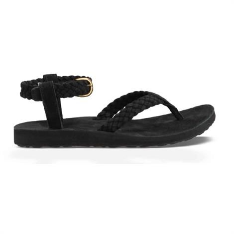 Image of   Teva Original Sandal Suede Braid Dame, Black