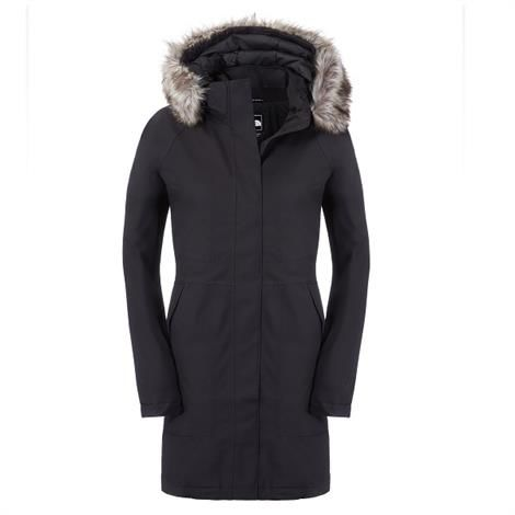 The North Face Womens Arctic Parka 2 Dame, Black
