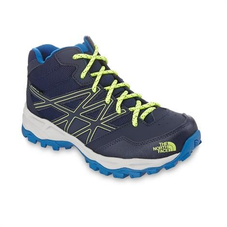 Image of   The North Face Boys Hedgehog Hiker Mid WP, Cosmic Blue