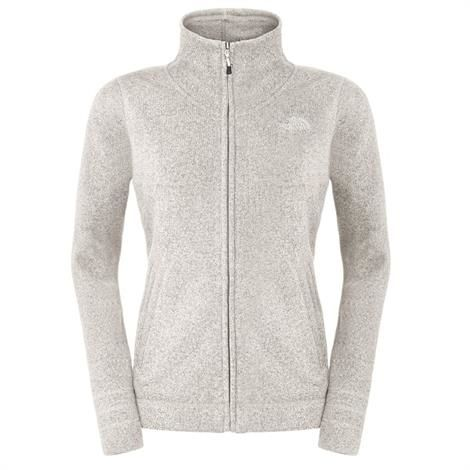 Image of   The North Face Womens Crescent Sunset Full Zip, Gardenia