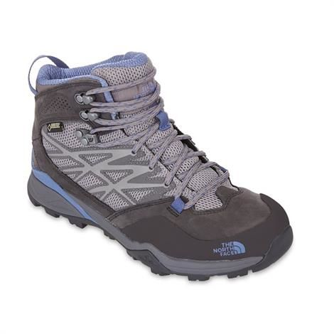 Image of   The North Face Womens Hedgehog Hike Mid GTX, Dark Gull Grey