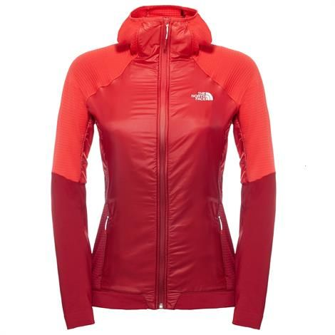The North Face Womens Kokyu Full Zip Hoodie, Biking Red