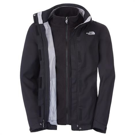 The North Face Womens New Evolve II Triclimate Jacket, Black