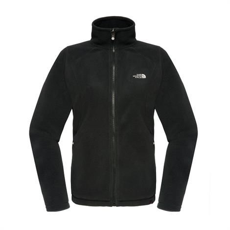 Image of   The North Face Womens 100 New Glacier Full Zip, Black