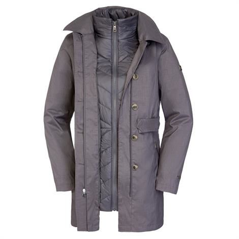 The North Face Womens New Riverdale Trench Triclimate, Grey