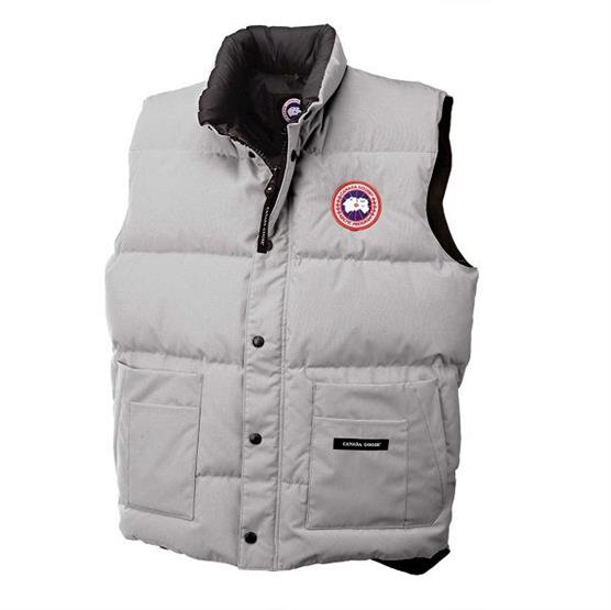 Canada Goose Mens Freestyle Vest, Silverbirch